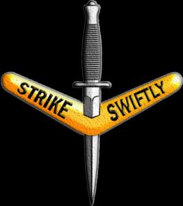 Символ 1-го полка резерва коммандос Австралийской армии