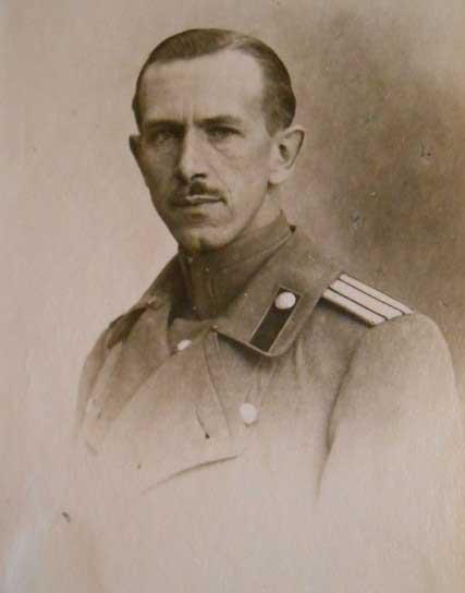 Полковник О.К. Энкель – русский военный агент в Риме.
