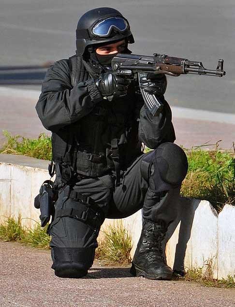 Албанское антитеррористическое подразделение RENEА