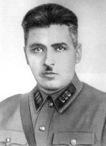 В.Х. Шармазанашвили, первый начальник ШОН