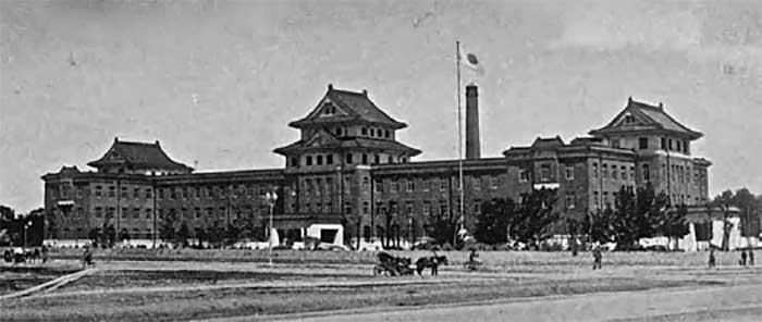 Штаб Квантунской армии в Суньцзине