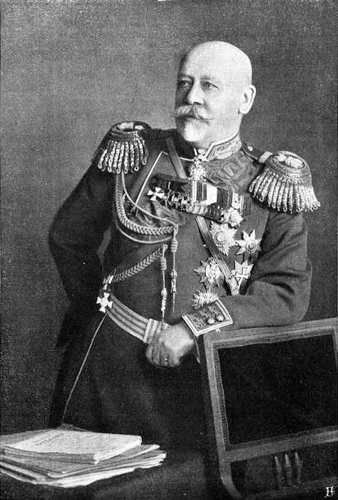 Вербовка генерала Сухомлинова